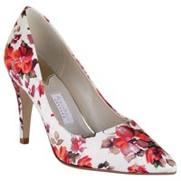 Rainbow Couture Valentina Floral Print Court Shoes Multi