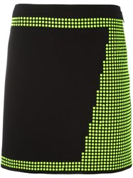 Christopher Kane Mini Studded Skirt Black