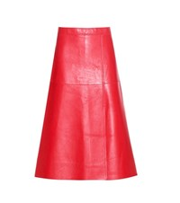 By Malene Birger Racianas Leather Skirt