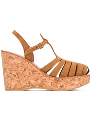 K. Jacques Tiphany Sandals Nude Neutrals