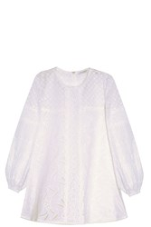 Andrew Gn Lace Tunic White