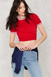 Nasty Gal Through The Ringer Crop Sweater