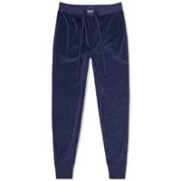 Polo Ralph Lauren Velour Sleepwear Sweat Pant Blue
