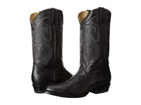 Stetson 13 Shaft Single Welt Round Toe Boot Black Cowboy Boots
