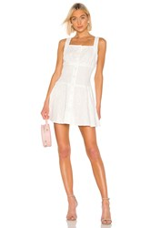 Kendall Kylie Bronderie Anglaise Eyelet Dress White