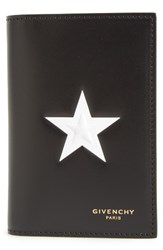 Givenchy Men's White Star Leather Wallet