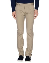 Daniele Alessandrini Trousers Casual Trousers Men Beige