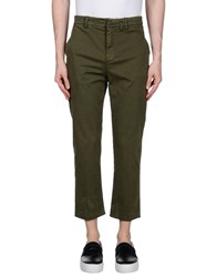 True Nyc. Casual Pants Military Green