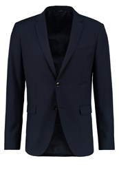 Sisley Suit Jacket Dark Blue