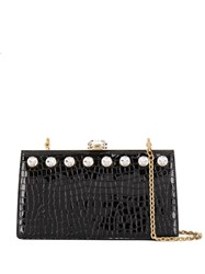 Miu Miu Solitaire Clutch Bag Black