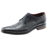 Loake Foley Derby Lace Up Brogues Black