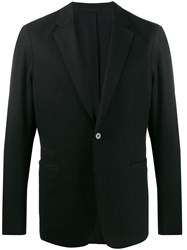 Theory Single Breasted Fitted Blazer Black
