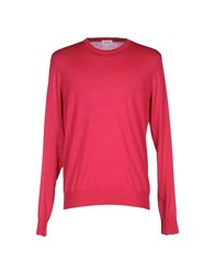 Faconnable Sweaters Brick Red