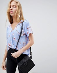 B.Young Cherry Blossom Blouse Combi 3 Multi