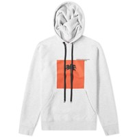 Palm Angels Front X Hoody Grey