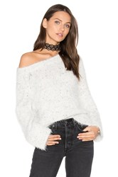 Feel The Piece Caspar Sweater White