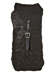 Cutuli Cult Vintage Textured Leather Backpack