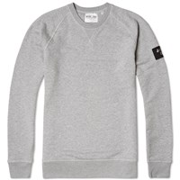 Mki Miyuki Zoku Mki Arm Badge Sweat Grey