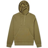 Officine Generale Pigment Dyed Olivier Hoody Green