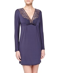 La Perla Pizzo Long Sleeve Chemise