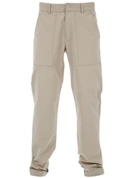 B Store 'Basil' Chino Trouser Nude And Neutrals
