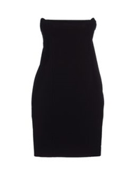 Manila Grace Short Dresses Black