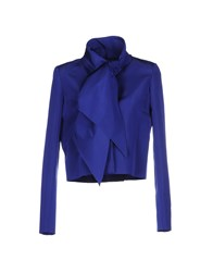 Oscar De La Renta Suits And Jackets Blazers Women Blue