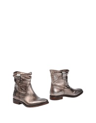Fru.It Fru. It Ankle Boots Platinum