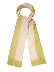 Richard James Dip Dyed Wool Blend Scarf