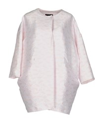 Femme By Michele Rossi Overcoats Light Pink