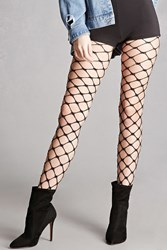 Forever 21 Leg Avenue Chain Link Tights Black