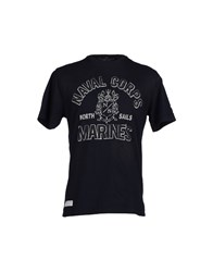 North Sails Topwear T Shirts Men Black