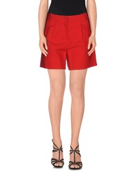 Maurizio Pecoraro Trousers Shorts Women Red