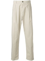 Closed Crushed Chino Trousers Neutrals