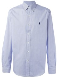 Ralph Lauren Striped Shirt Blue