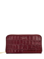 Aspinal Of London Continential Clutch Wallet Red