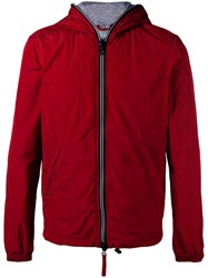 Duvetica Lightweight Quilted Jacket Men Cotton Feather Down Polyester Polyimide 50 Red