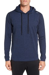 Sodo Men's 'Slu' Hoodie Heather Navy Black