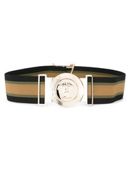 Versace Medusa Belt Nude And Neutrals