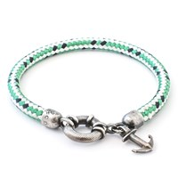 Anchor And Crew Salcombe Rope Silver Bracelet