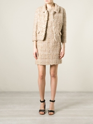 Christian Dior Vintage Boucle Dress Suit