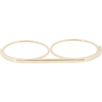 Jennie Kwon Gold Long Bar Ring