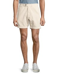 Brooks Brothers Corduroy Shorts Natural
