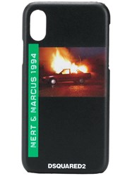 Dsquared2 Car Explosion Iphone X Case Black
