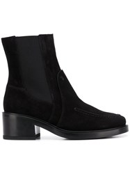 Tod's Classic Ankle Boots Black