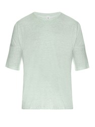 Robinson Les Bains Lege Cotton Jersey T Shirt Light Green