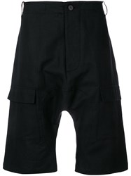 Tom Rebl Dropped Crotch Shorts Black