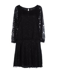 Soallure Dresses Short Dresses Women Black