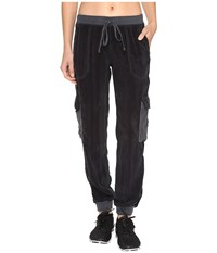 Hard Tail Cargo Bomb Jogger Dark Knight Women's Casual Pants Silver