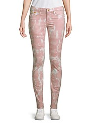 Robin's Jean Tie Dyed Jeans Pink Multi
